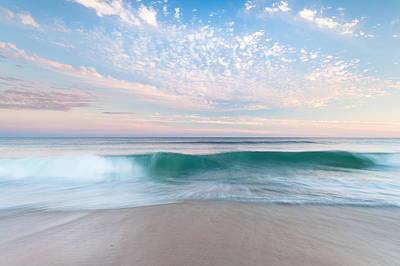 North Carolina Cape Hatteras National Seashore Sunset Poster by Mark VanDyke