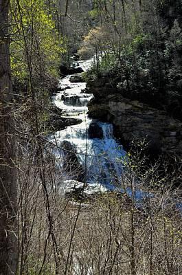 North Carolina Falls Poster