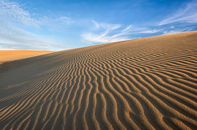 North Carolina Jockey's Ridge State Park Sand Dunes Poster by Mark VanDyke