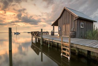 North Carolina Manteo Historic Fisherman's Net House Poster by Mark VanDyke