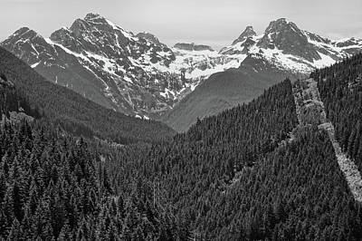 North Cascades National Park Landscape Poster by Dan Sproul