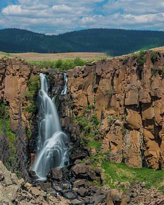 North Clear Creek Falls, Creede, Colorado Poster