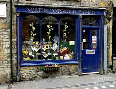 North Cotswold Bakery Poster by Lainie Wrightson