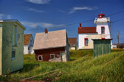 North Rustico Harbour - Pei Poster