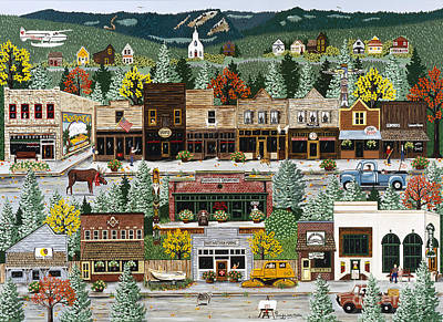 Northern Exposure Poster by Jennifer Lake