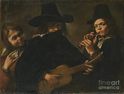 Northern Follower Of Caravaggio Poster by MotionAge Designs