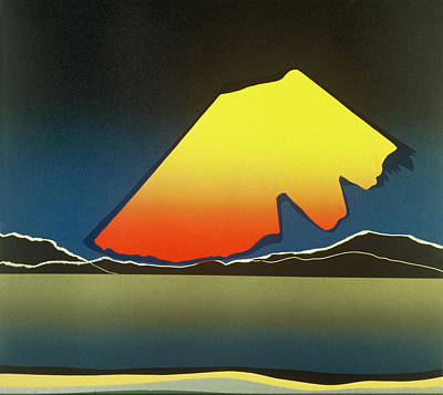 Northern Light. Poster by Jarle Rosseland
