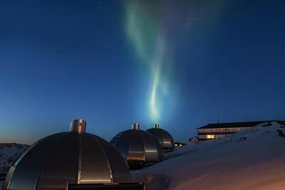 Northern Lights - Greenland Poster