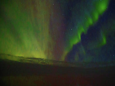 Northern Lights Or Auora Borealis Poster