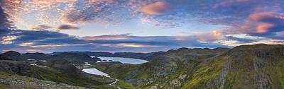 Northern Norway Panorama North Cape Poster by Sandra Rugina