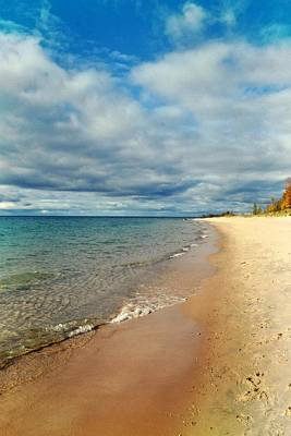 Poster featuring the photograph Northern Shore by Michelle Calkins