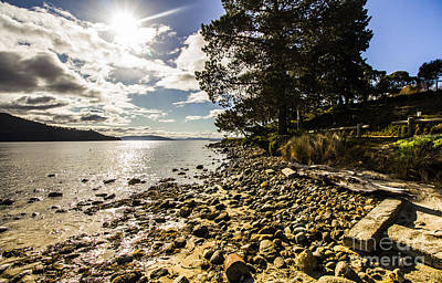 Northern Tip Of Bruny Island Poster by Jorgo Photography - Wall Art Gallery