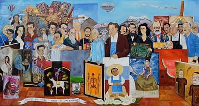 Nosotros Los Hombres Verdes De Mexico Poster