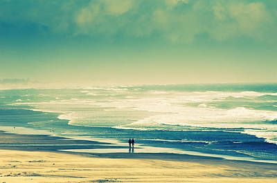 Nostalgic Oceanside Oregon Coast Poster
