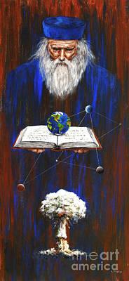 Nostradamus Poster by Arturas Slapsys