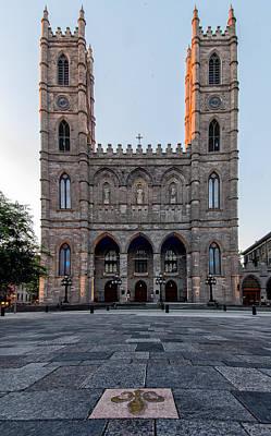 Notre-dame Basilica Fleur-de-lis  Poster by James Wheeler