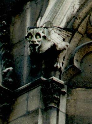 Notre Dame Gargoyle 2 Poster by Christopher Kirby