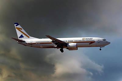 Novair Boeing 737-85f Poster
