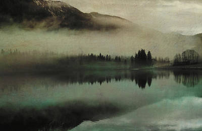 November Lake Poster by AugenWerk Susann Serfezi
