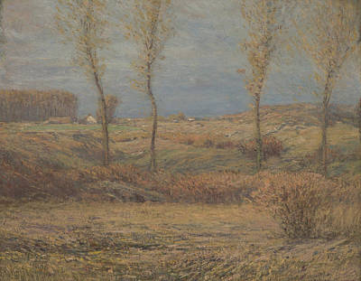 November Morning Poster by Dwight William Tryon