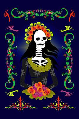 Novia De Los Muertos Poster