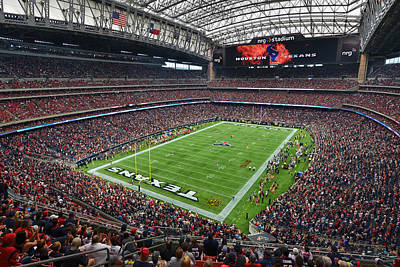 Nrg Stadium - Houston Texans  Poster