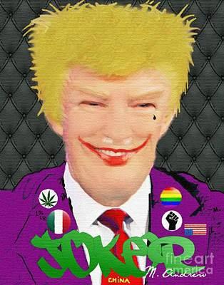 Nsfw / Mr. President??? Poster by Miguelandrew Art
