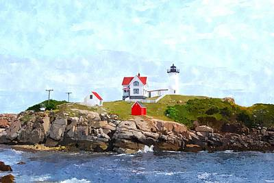 Nubble Light Nlwc Poster by Jim Brage