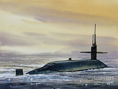 Nuclear Submarine Poster