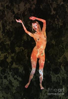 Nude 1 Pop Art By Mary Bassett Poster