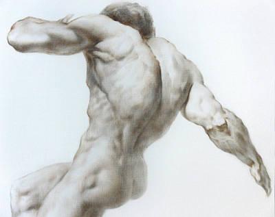 Nude 1a Poster by Valeriy Mavlo
