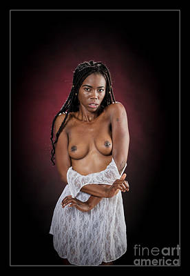 Nude African Woman 1728.074 Poster