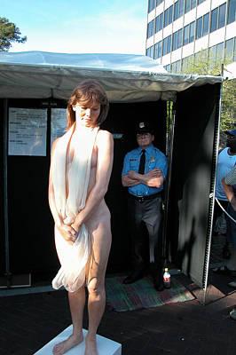 Nude And Policeman Poster