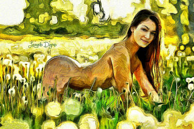 Nude Flower - Da Poster