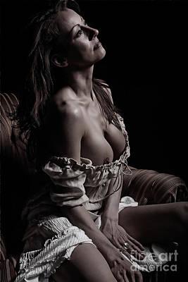 Nude Portrait Poster