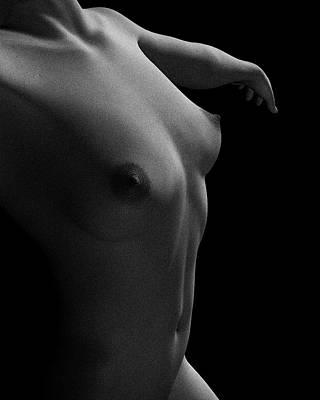Nude Study Of Jamie Dancing Poster