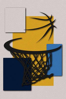 Nuggets Hoop Poster by Joe Hamilton