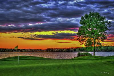 Number 4 The Landing Reynolds Plantation Golf Art Poster
