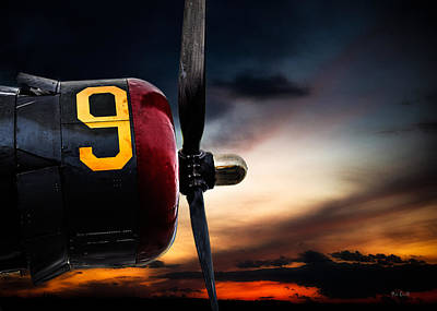 Number 9 Consolidated B-24 Liberator Poster