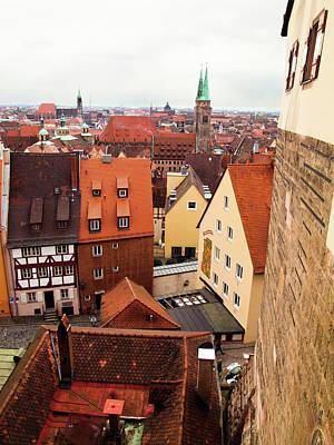 Nuremberg Cityscape Poster