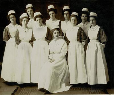 Nursing Class 1919 Poster by Kathryn LeMieux