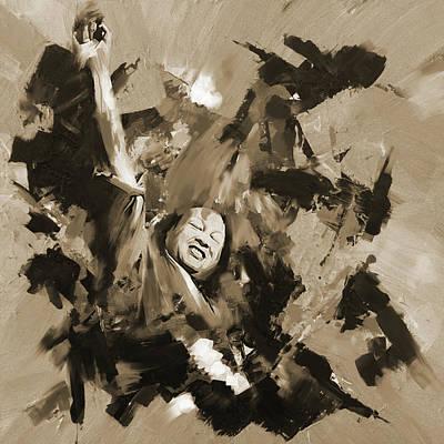 Nusrat Fateh Ali Khan 188 IIi Poster by Mawra Tahreem