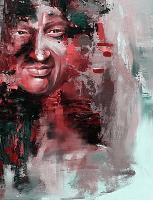Nusrat Fateh Ali Khan Iv Poster by Mawra Tahreem