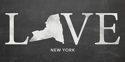 Ny Love Poster by Nancy Ingersoll
