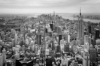 Nyc Aerial Poster