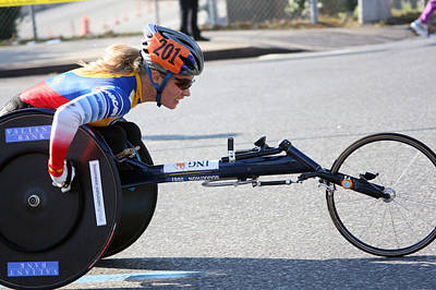 Nyc Marathon Edith Hunkeler 2 Poster