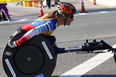 Nyc Marathon Edith Hunkeler 3 Poster