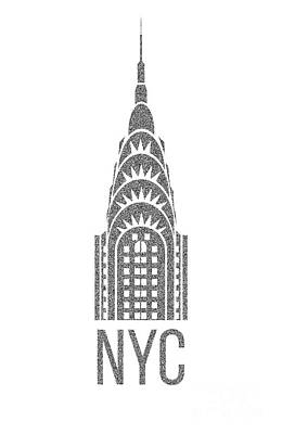 Nyc New York City Graphic Poster by Edward Fielding