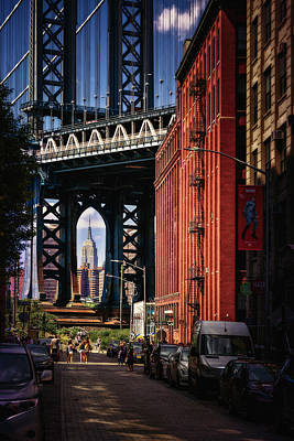 Nyc Summer Postcard Poster by Eduard Moldoveanu