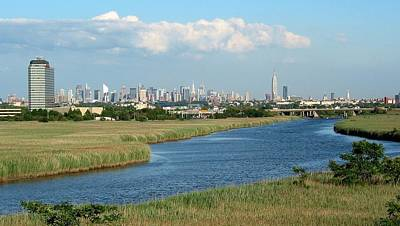 Nyc Through The Meadowlands Poster